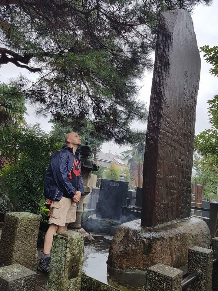 Tomba del Maestro Usui - Tokyo 2016